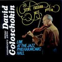 David Goloschokin - Great Russian-Jazz Violin
