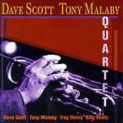 The Dave Scott / Tony Malaby Quartet - The Dave Scott / Tony Malaby Quartet