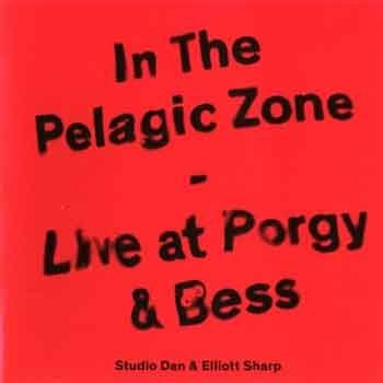 Studio Dan & Elliott Sharp - In The Pelagic Zone – Live At Porgy & Bess