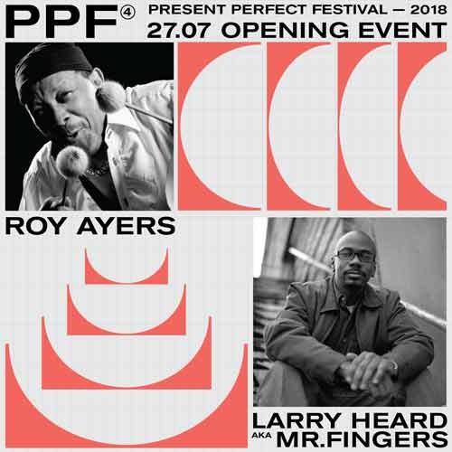 Впервые в России: Roy Ayers и Larry Heard (27 июля, Санкт-Петербург)