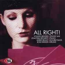 Volker Bruder Quartet - All Right!