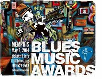Лауреаты и номинанты Blues Music Awards 2014