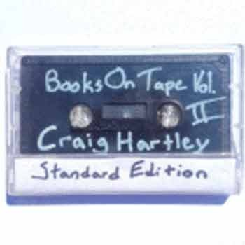 Craig Hartley - Books On Tape, Vol. 2 – Standard Edition